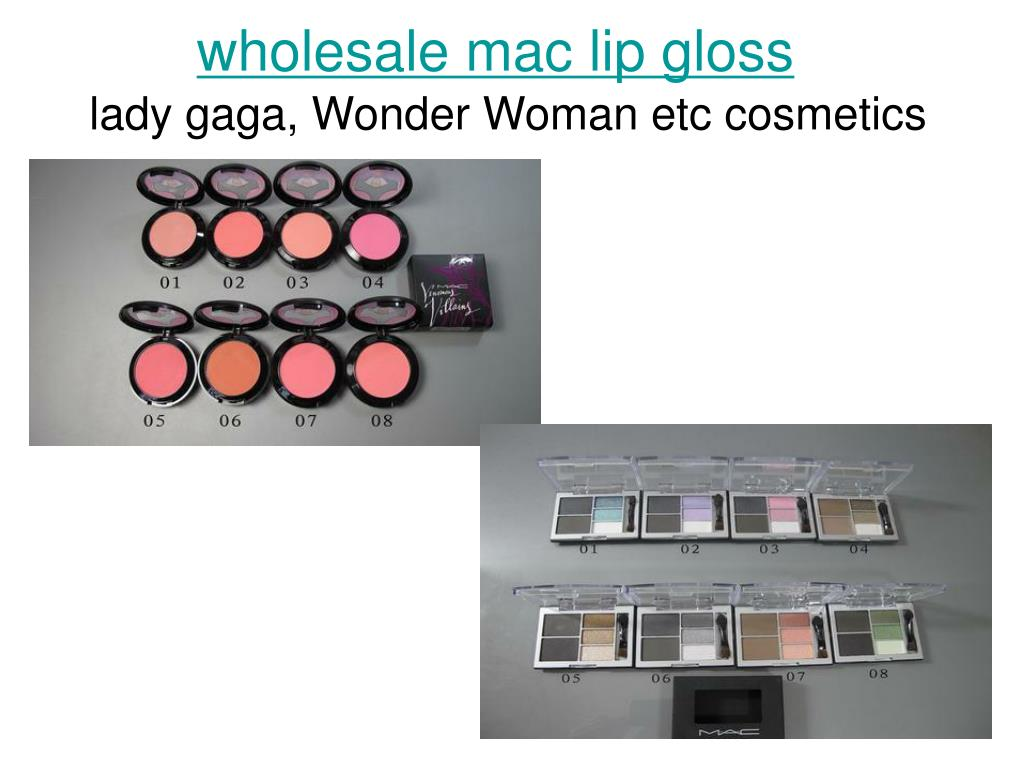 wholesale mac lip gloss l.