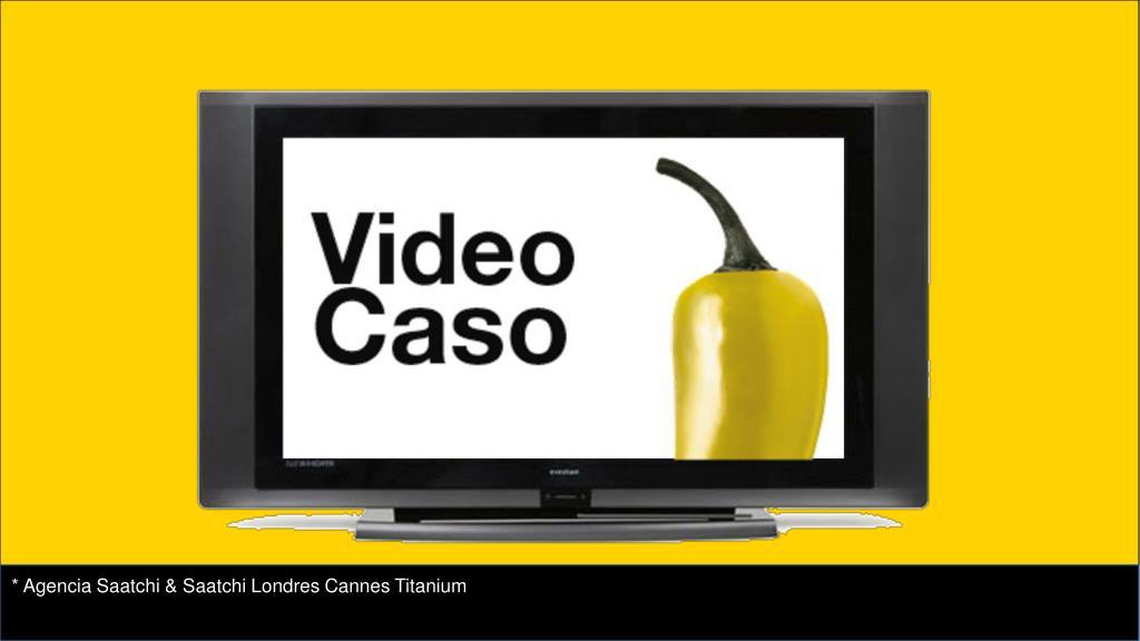 * Agencia Saatchi & Saatchi Londres Cannes Titanium