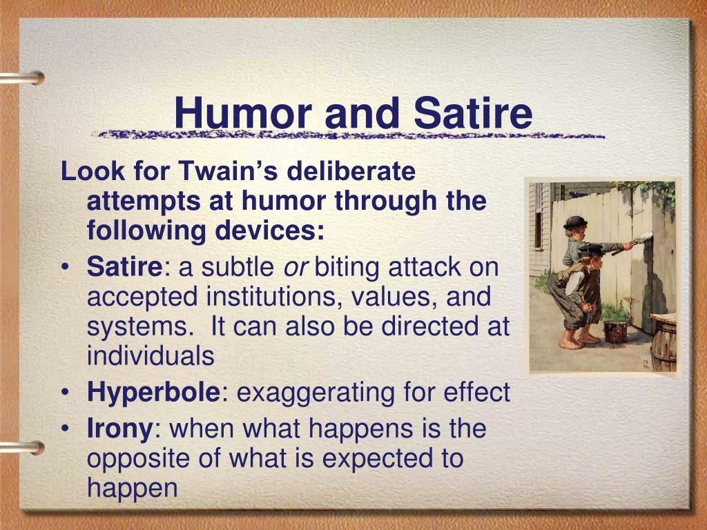 Humor and Satire