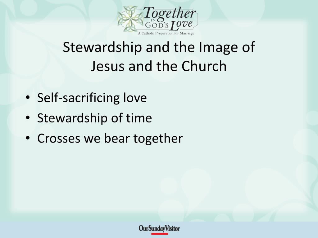 Stewardship and the Image of