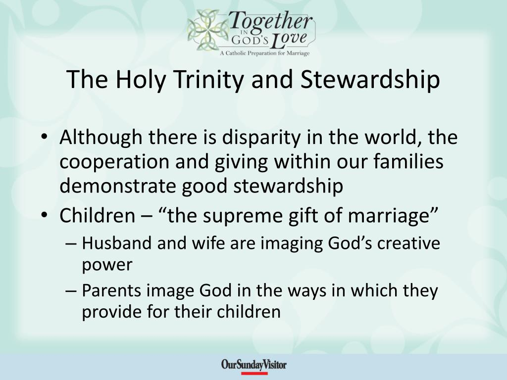 The Holy Trinity and Stewardship