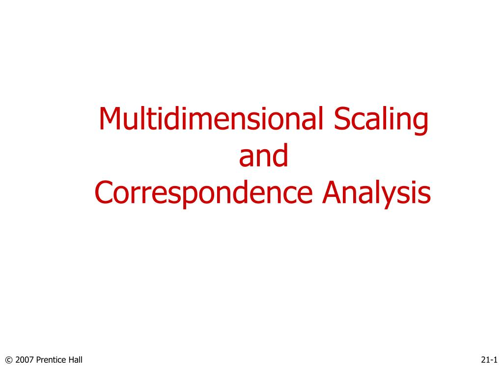 multidimensional scaling Multidimensional scaling (mds), is a set of multivariate data analysis methods that are used to analyze similarities or dissimilarities in data one of the nice features of mds is that it allows us to.