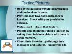 texting pictures