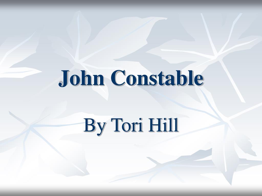 john constable l.
