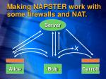 making napster work with some firewalls and nat