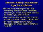 internet safety awareness tips for children2