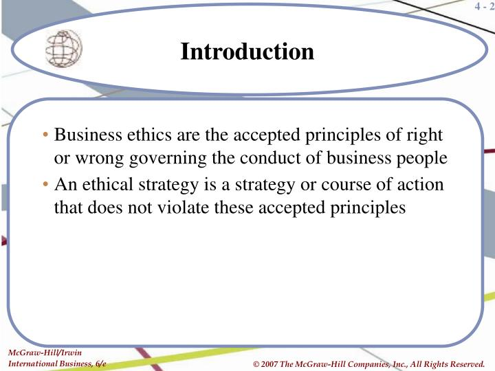 ppt ethics in international business powerpoint presentation id