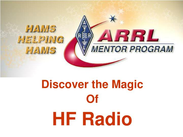 discover the magic of hf radio n.