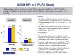 gissi hf n 3 pufa study