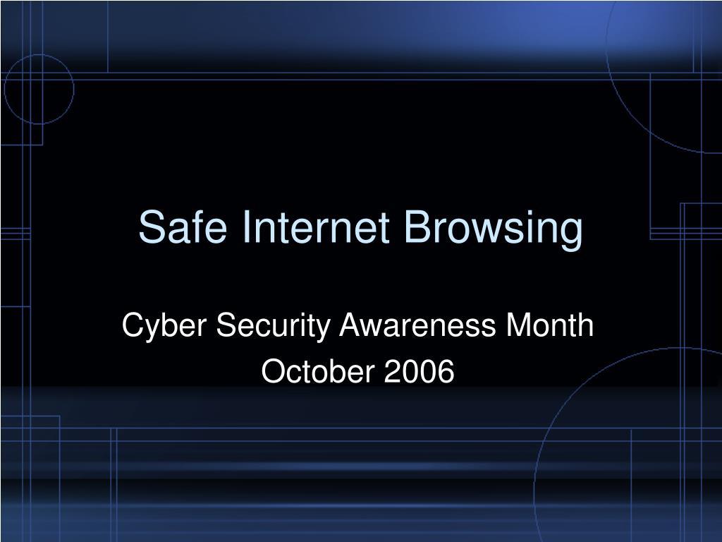 safe internet browsing l.