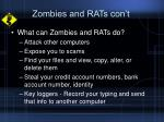 zombies and rats con t9
