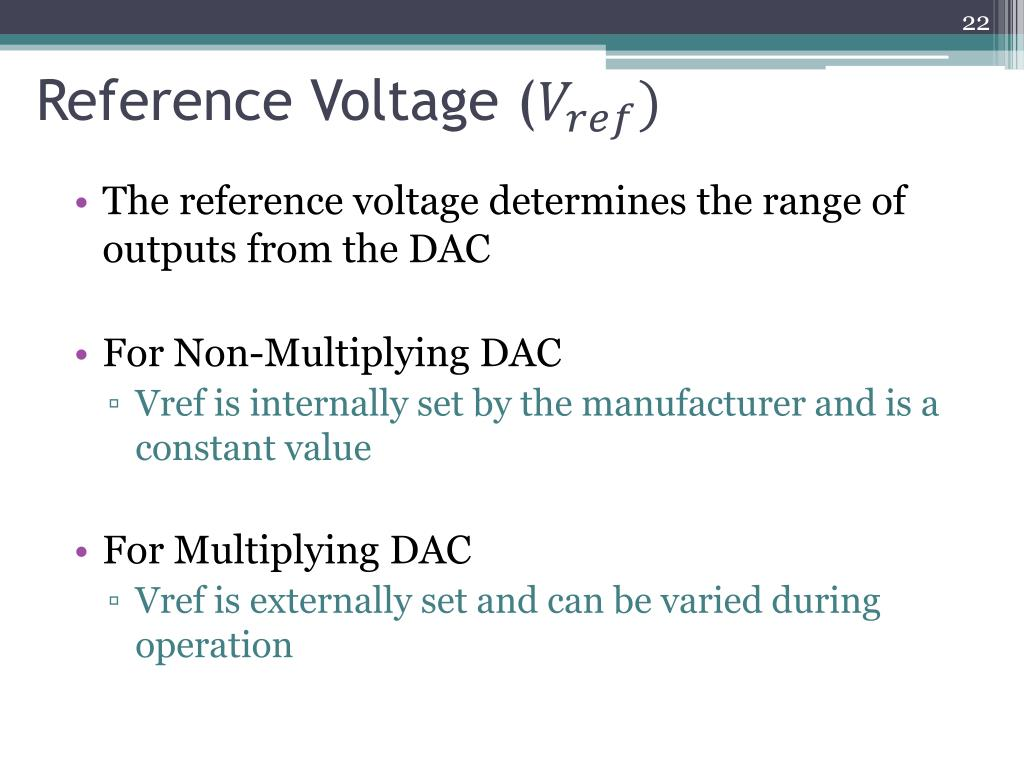 Reference Voltage (