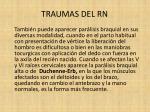 traumas del rn20