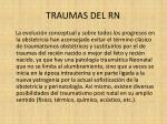 traumas del rn4