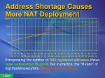 address shortage causes more nat deployment