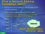 what is network address translation nat