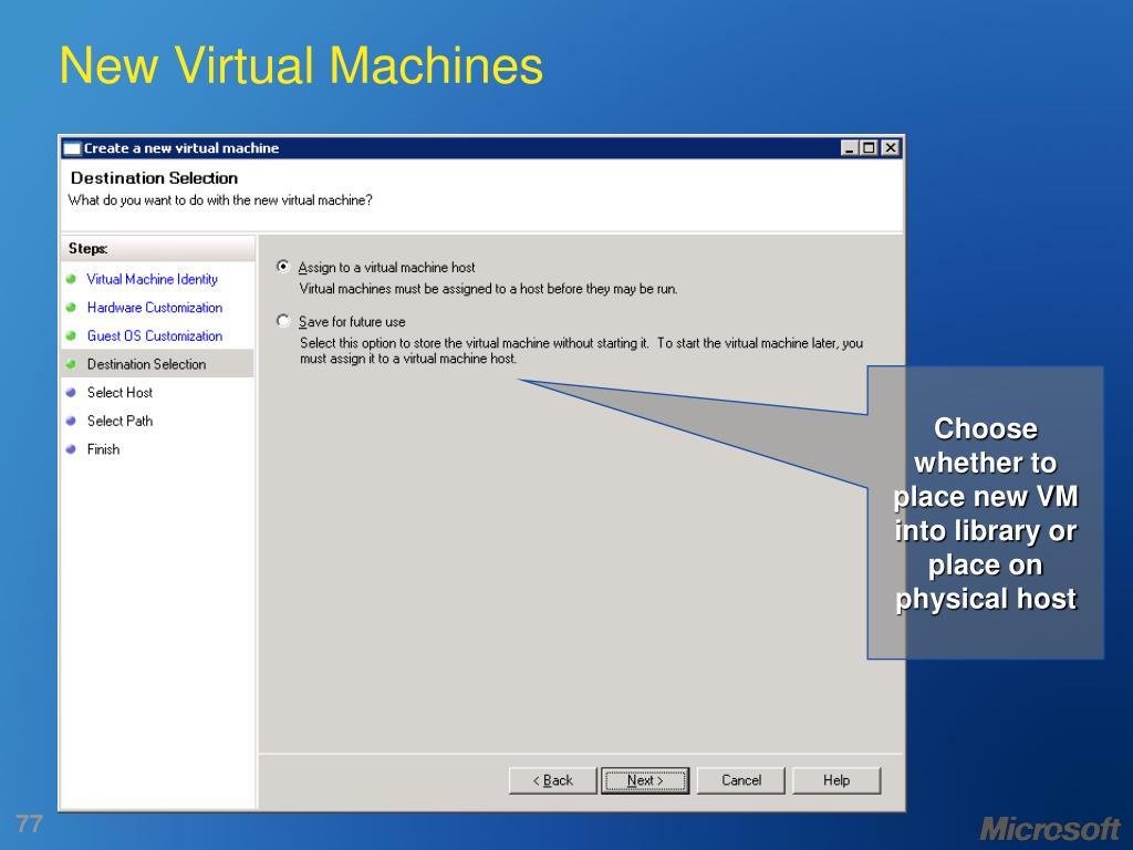 New Virtual Machines