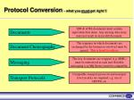 protocol conversion what you must get right