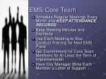 ems core team