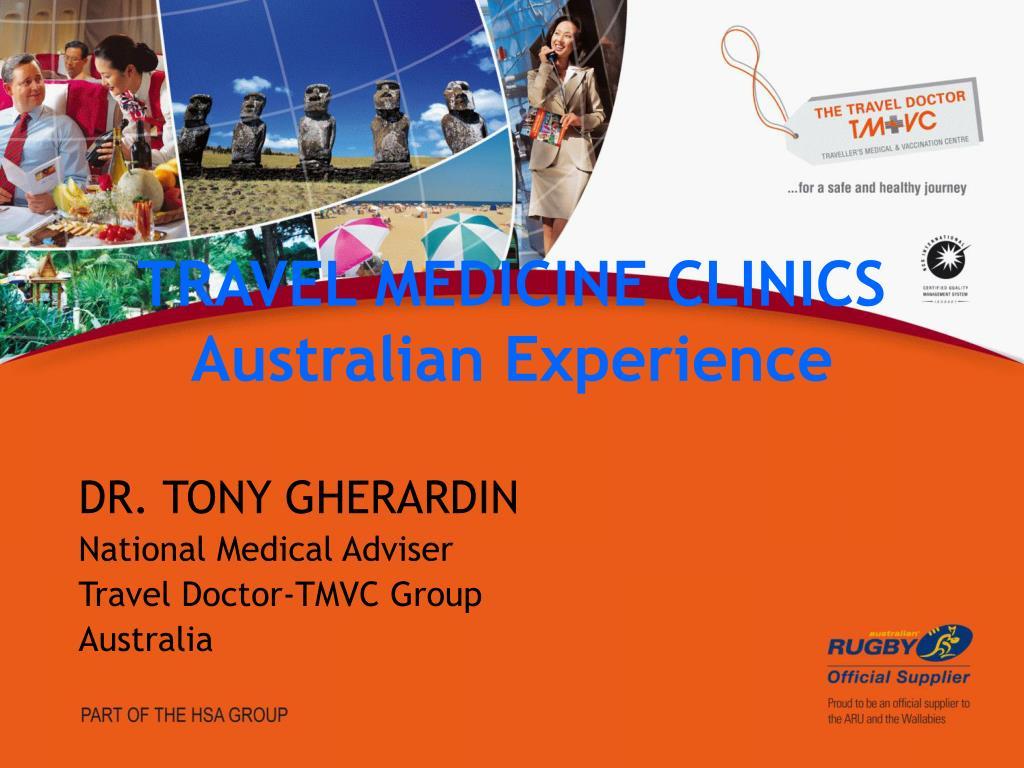 travel medicine clinics australian experience l.