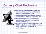 currency chest mechanism