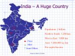 india a huge country