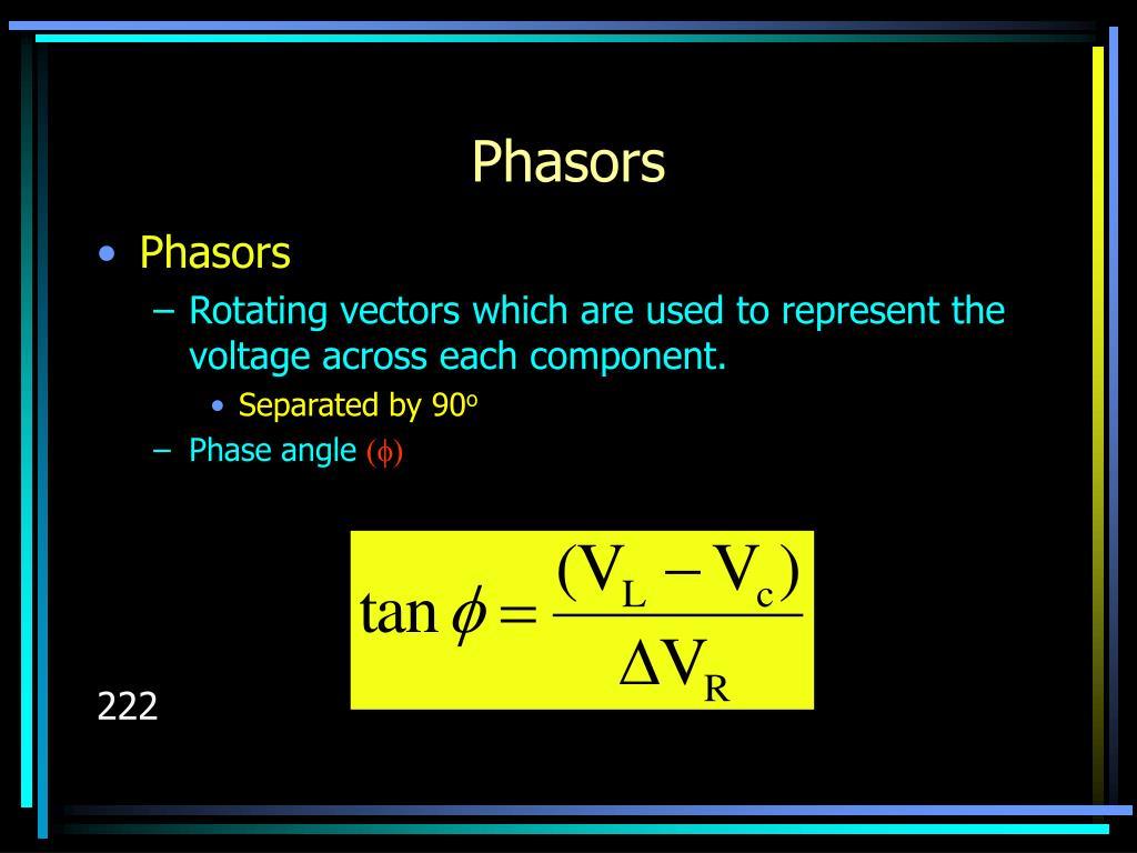 Phasors
