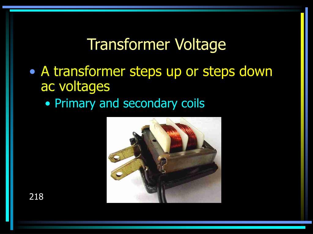Transformer Voltage