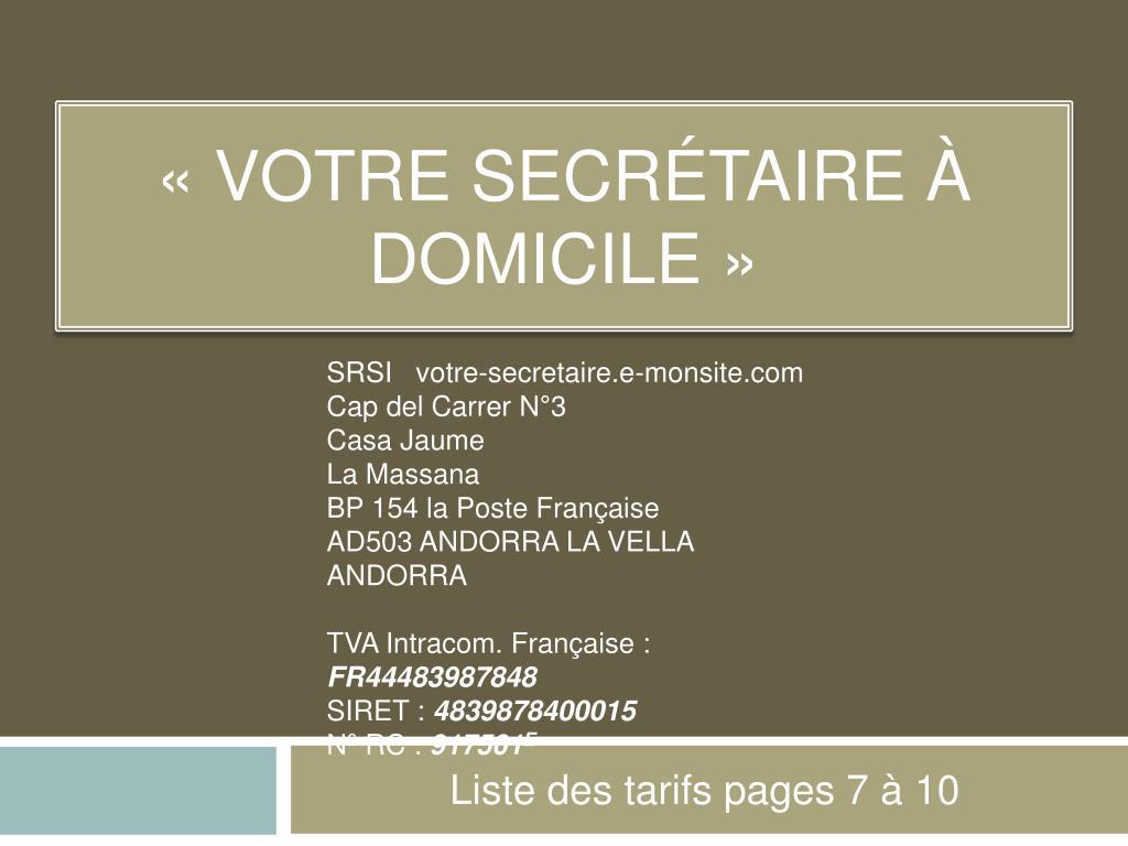 SRSI votre-secretaire.e-monsite.com