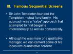 iii famous sequential screens11