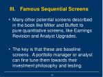 iii famous sequential screens16