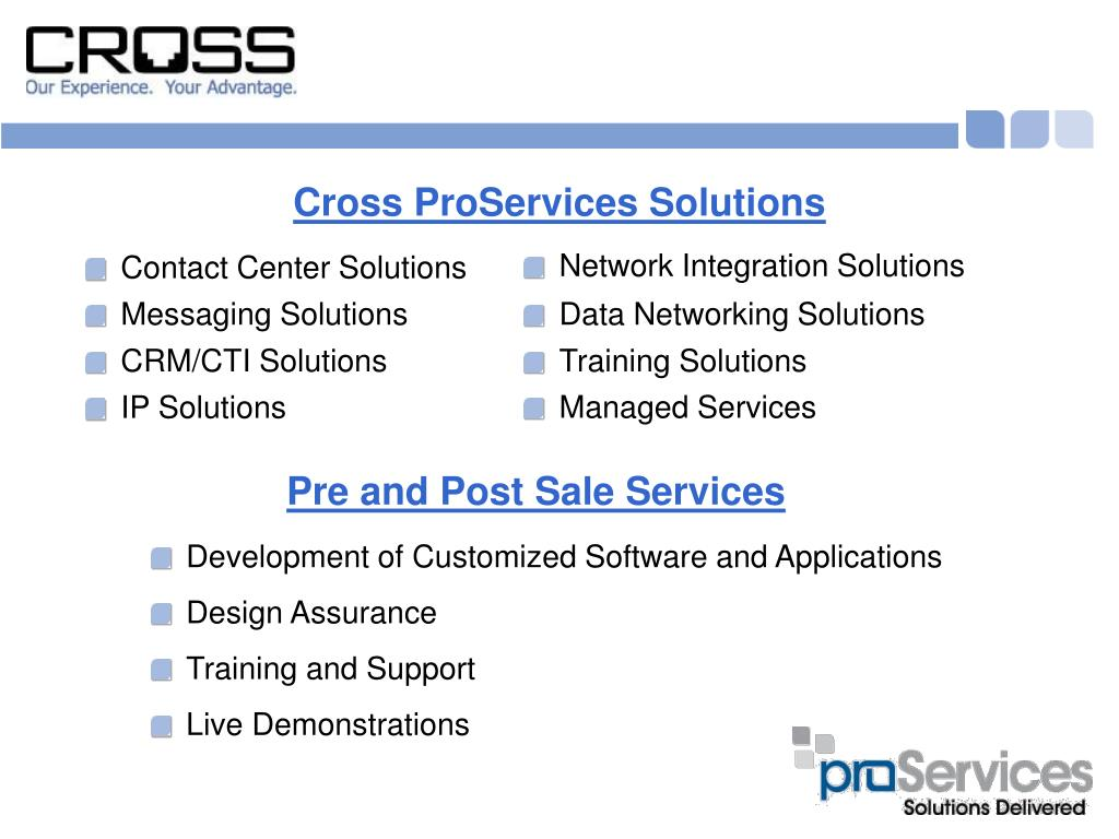 Cross ProServices Solutions