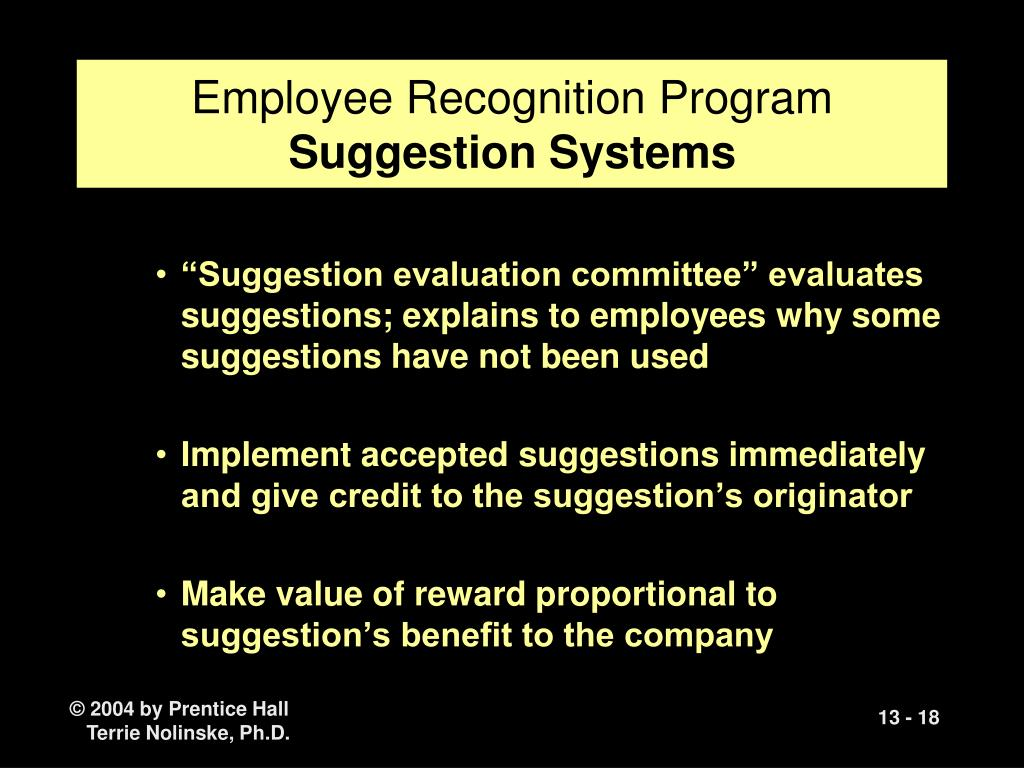 Employee Recognition Program