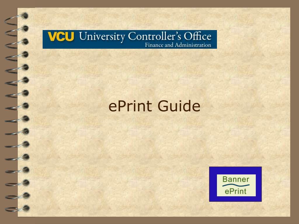 ePrint Guide