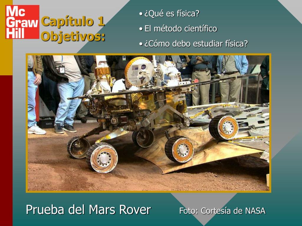 Prueba del Mars Rover