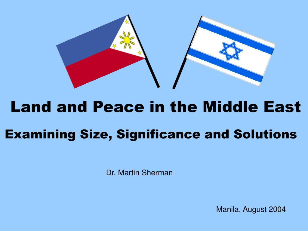 the global significance of the middle east essay The division between islam's shiite minority and the sunni majority is deepening across the middle east the origins of the shiite the significance.