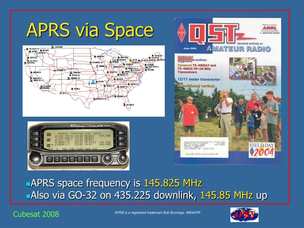 PPT - APRS via Space PowerPoint Presentation - ID:778247
