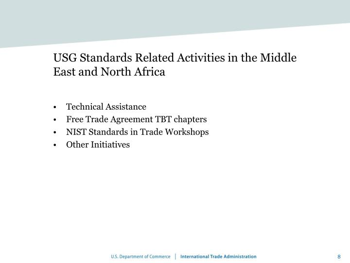 Ppt standards influences in the middle east and north africa usg standards related activities in the middle east and north africa sciox Image collections