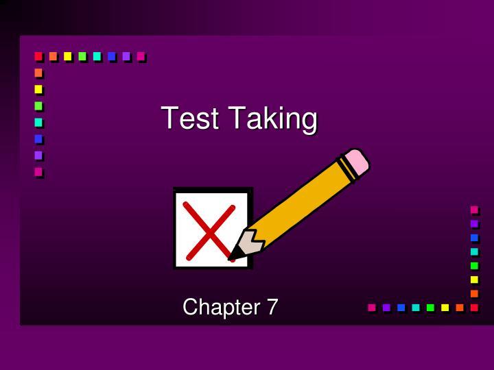 test taking n.