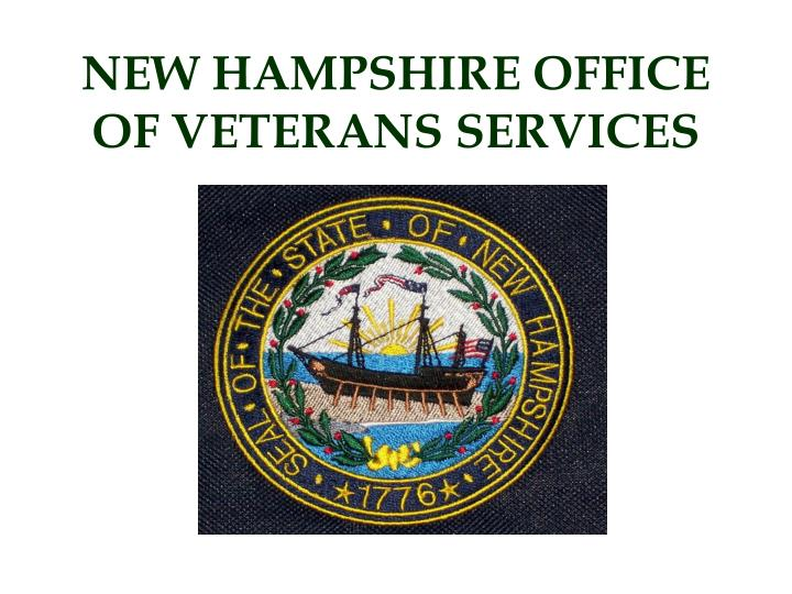 new hampshire office of veterans services n.