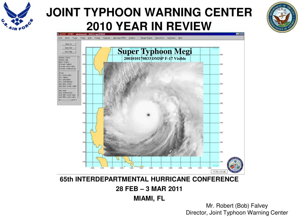 joint typhoon warning center 2010 year in review l.