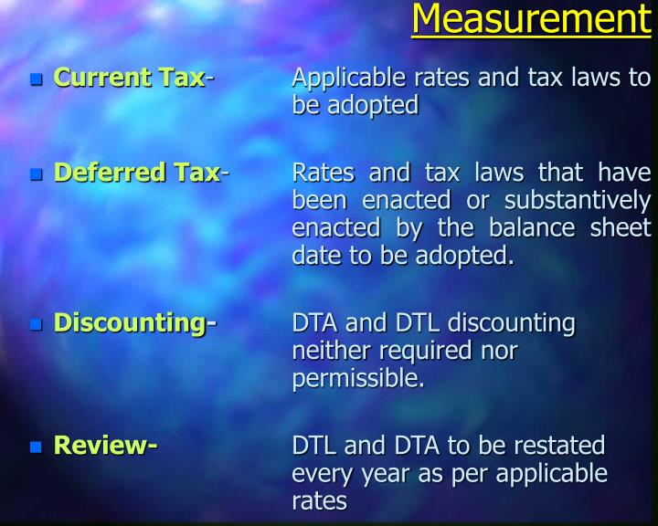 discounting deferred tax liability 50% discount in ca final,ipcc,inter,foundation subjects for nov18 exams- coupon code : exam50  feedback meaning of deferred tax liability & asset in simple words republished with updates till july 2018  in simple words, deferred tax liability is a provision for future taxation  these deferred taxes are given effect to in the financial.