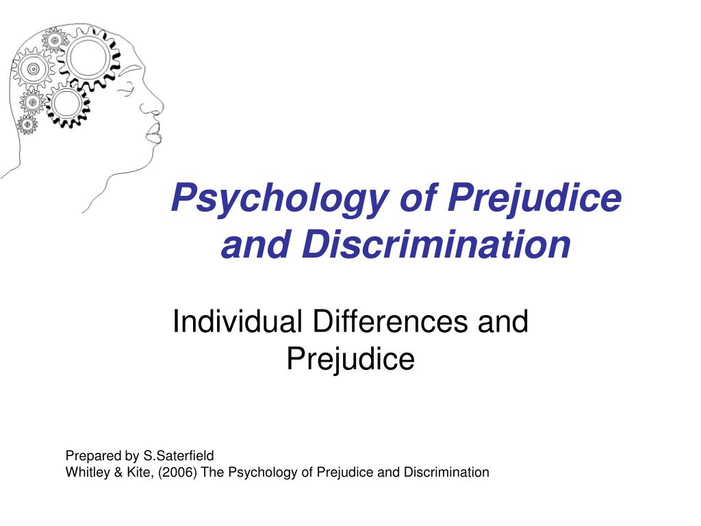 the history of prejudice and discrimination As such, small-business owners should be proactive by taking action in addition to alerting employees about the company position on prejudice and discrimination in the workplace history.