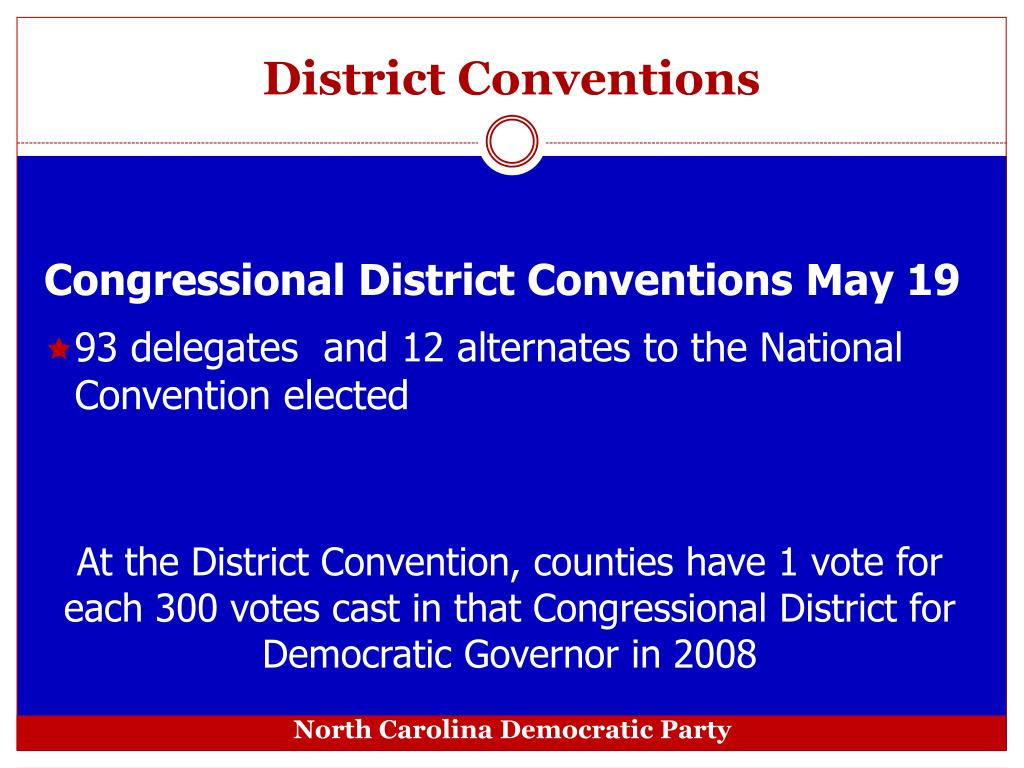 District Conventions