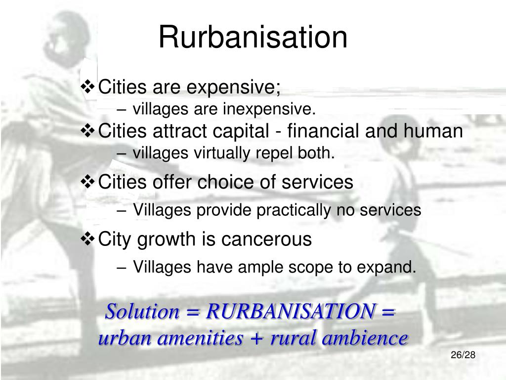 Rurbanisation