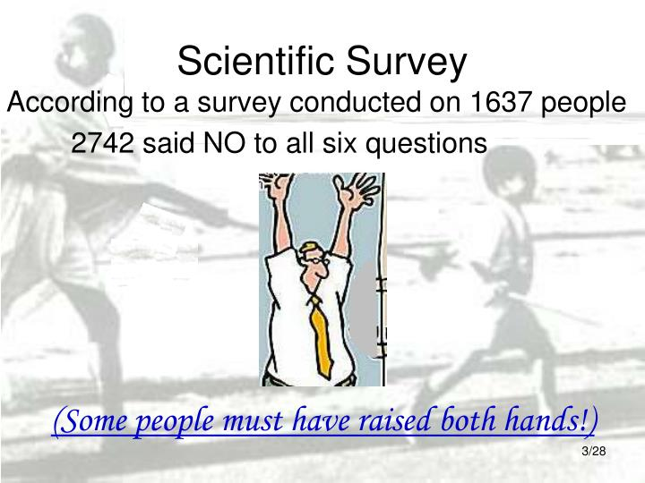 Scientific survey