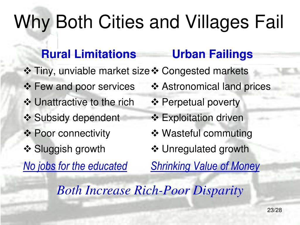 Rural Limitations