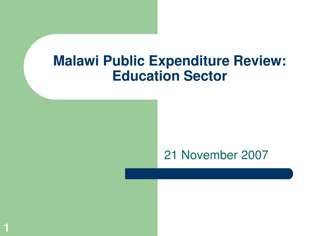 malawi public expenditure review education sector l.