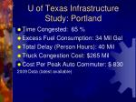 u of texas infrastructure study portland