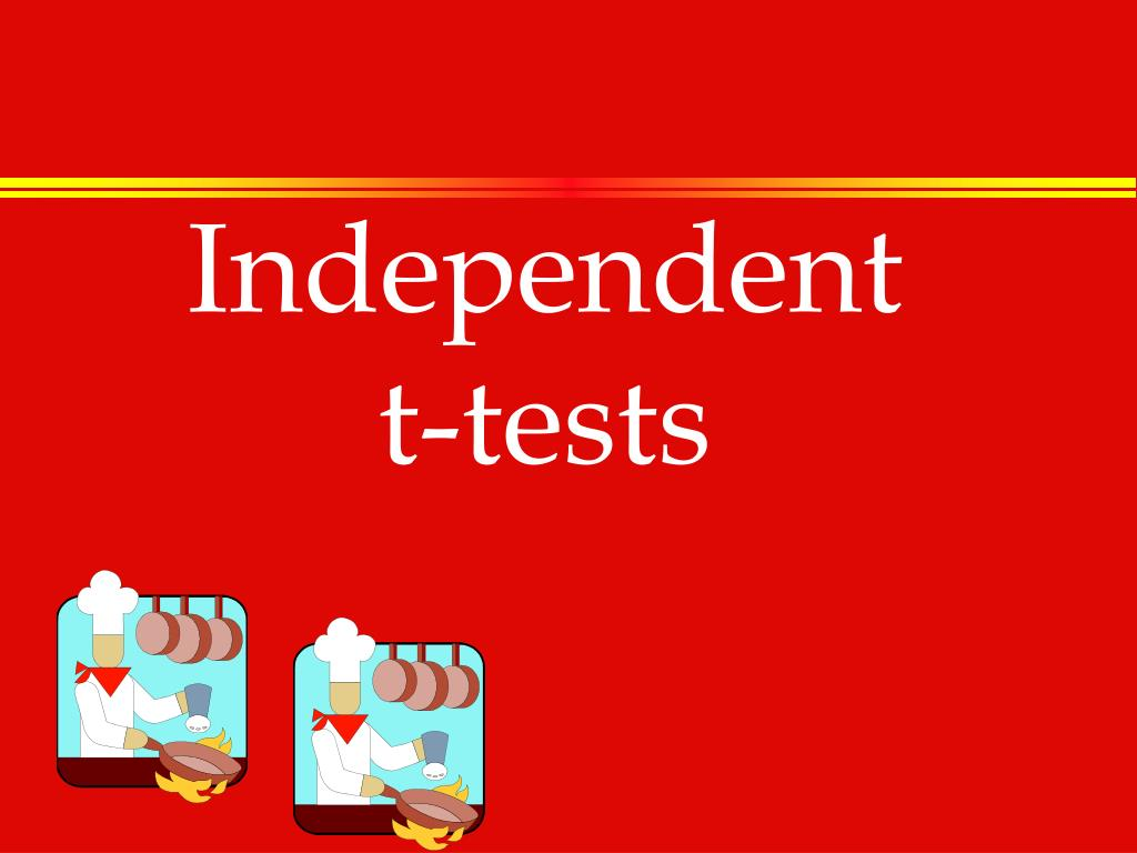 independent t tests l.